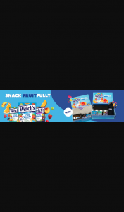 Welch's Fruit Snacks – Win a Welch's Fruit Snacks Prize Pack (prize valued at $200)