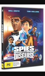 Win a Spies In Disguise Prize Pack Including a Spies In Disguise DVD