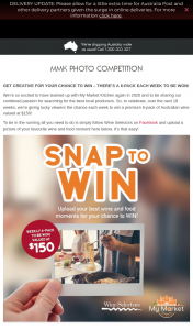 Wine Selectors – Win – there's a 6-pack Each Week to Be Won (prize valued at $150)