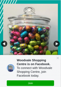 Woodvale Shopping Centre – Win Easter Eggs In a Jar