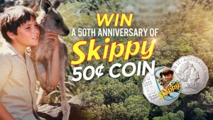 9Now – Today – Win a rare Skippy 50c coin