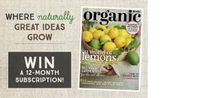 ABC Entertains Me – Win a 12-month subscription to Organic Gardener