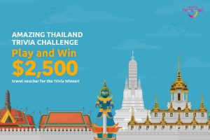 Amazing Thailand – Win a Webjet e-gift card valued at $2,500