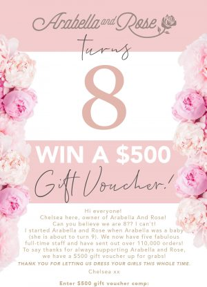 Arabella and Rose – Win a $500 voucher