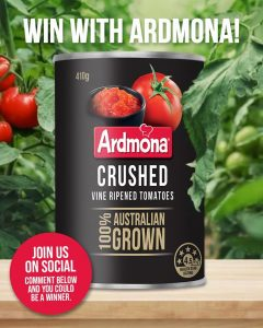 Ardmona – Win a supply from Ardmona valued at up to $600