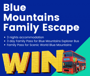 Blue Mountains Explorer Bus – Lego Masters – Win a family holiday package