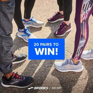 Brooks Running – Win 1 of 20 pairs of shoes