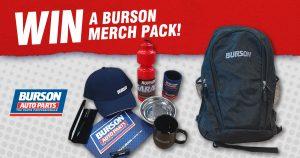 Burson Auto Parts – Win 1 of 5 prize packs