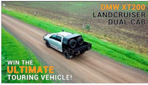 DMW Industries – Win a Dual Cab converted Toyota Landcruiser XT200