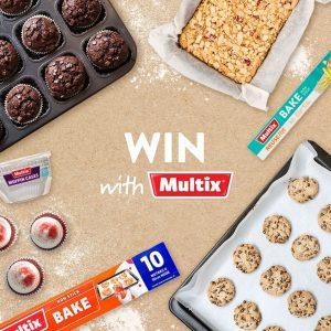 Multix – Win 1 of 3 Multix baking prize packs