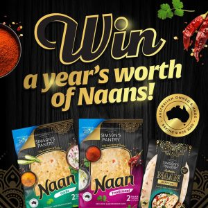 Simson's Pantry – Win a years worth of Naans