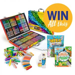 SunSense – Win 1 of 10 Arts and Craft prize packs