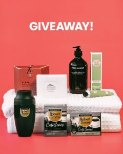The House of Robert Timms – Win a Mother's Day pamper hamper