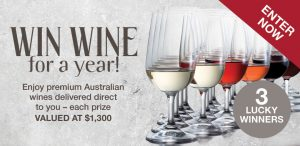 Wine Selectors – Win Wine for a Year