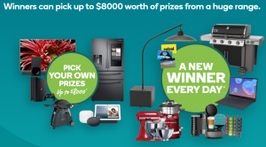 Woolworths – Big Night In 2020 – Win $8000 worth of prizes