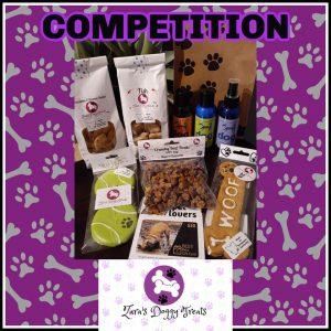 Zara's Doggy Treats – Win a dog prize pack