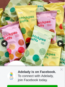 Adelady – Win a Whopping Year's Supply of Pangkarra Chickpea Puffs