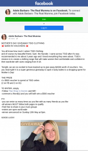 Adele Barbaro- The Real Mumma – Win a $500 Voucher ⁣
