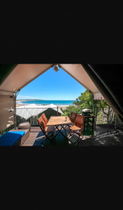 Agnes Water Beach Holidays – Win 4 Nights In a 2 Bedroom Beach House Or Safari Tent for 2 Adults & 2 Children No Travel