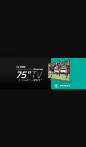 Air Locker Training – Win a Hisense 75 Series Q8 4k Uled Tv & Nrl Jersey (prize valued at $2,500)