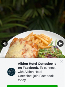 Albion Hotel Cottesloe – Win a Parmy for You & a Mate When We Reopen