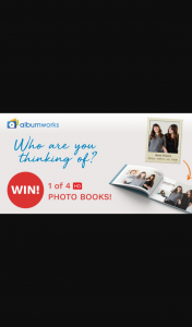 Album Works – Win 1 of 4 Stunning Hd Photo Books (prize valued at $1,000)