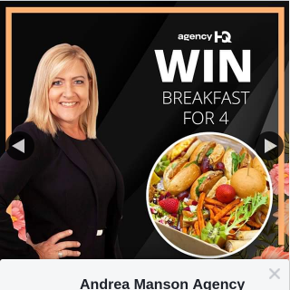 Andrea Mason Property – Win a Gourmet Takeaway Breakfast for 4
