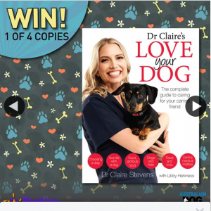Australian Dog Lover – Win 1 of 4 Copies (prize valued at $160)