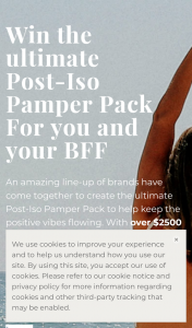 Beach Luxe-DK Active/Maui Now – Win a Post-Iso Pamper Pack Worth Over $2500. (prize valued at $2,500)
