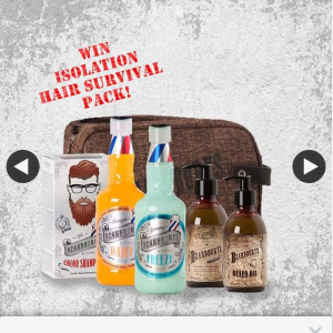 Beardburys au – Win a Beardburys Hair Survival Isolation Pack