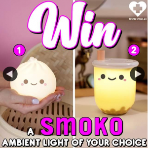 Beserk – Win Smoko Ambient Light of Your Choice