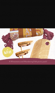Biome-Wandering Folk – Win a Picnic Pack Valued at $297 (prize valued at $190)