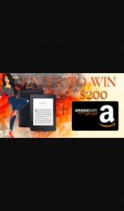 Book Throne – Win Amazon Kindle Paperwhite $200 Amazon Gift Card