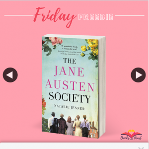 Books With Heart – Win 1 of 5 Copies of The Jane Austen Society By Natalie Jenner