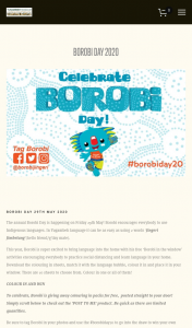 Borobi Colour in and – Win Your Own Borobi Setup at Home Or Learning Centre Which Includes a Limited Edition T-Shirt (prize valued at $309.95)