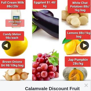 Calamvale Discount Fruit Barn – Win a Voucher Here at Calamvale Discount Fruit Barn Barn