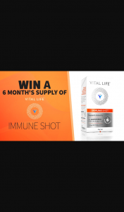 Channel 7 – Sunrise – Win a Six Month Supply of Vital Life Immune Shot