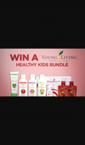 Channel 7 – Sunrise – Win a Young Living Healthy Kids Bundle Worth Over $300 In this Week's Sunrise Family Newsletter (prize valued at $303)