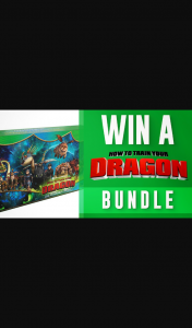 Channel 7 – Sunrise – Win One of Eight 'how to Train Your Dragon' Mystery Bundles In this Week's Sunrise Family Newsletter (prize valued at $312)