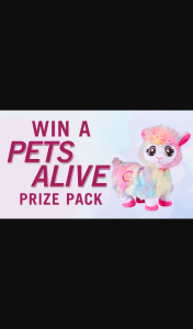 Channel 7 – Sunrise – Win One of Three Pets Alive Prize Packs In this Week's Sunrise Family Newsletter (prize valued at $294)