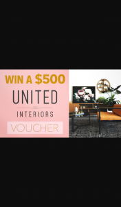 Channel 7 – Sunrise – Win $500 to Spend at United Interiors at In this Week's Sunrise Family Newsletter
