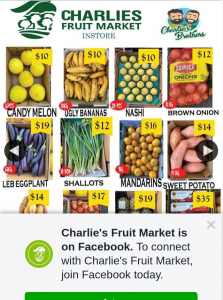 Charlie's Fruit Market Everton Park – Win 4 Boxes