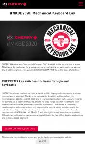 Cherry MX's MXBD – High-Quality