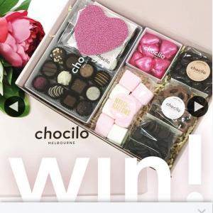 Chocilo Melbourne – Win Chocolate Hamper (prize valued at $59.95)