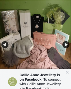 Collie Anne Jewellery – Win a Winter Wooly Warmer Pack (prize valued at $440)