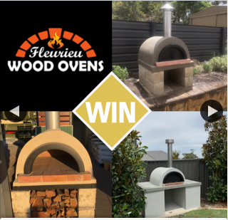 Cosi Andrew Costello – Win a Courtyard Wood Oven From Fleurieu Wood Ovens??