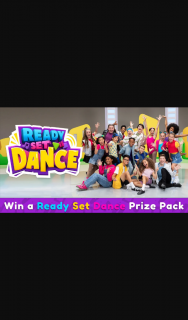 10 Daily – Win The Ultimate Ready Set Dance-At-Home Pack Which Includes an Exlcusive Ready Set Dance Virtual Class for You and Two Friends and The Ultimate Ready Set Dance Swag Bag (prize valued at $2,500)