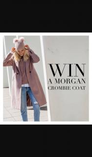 Decjuba Official – Win a Morgan Crombie Coat..