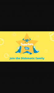 Dishmatic – Win The Chance to Become a Dishmatic Superfan