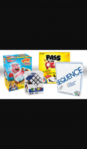 Families magazine – Win Pack of 4 Games for Kids From Crown & Andrews